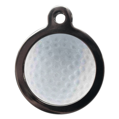 Golf Pet ID Tag