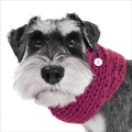 Chunky Funky Snood Scarf - Magenta
