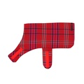 Henry Holland Red Tartan Dog Coat 2
