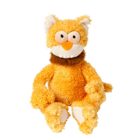 Chase the Cat Plush Dog Toy