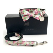Percy & Co - Collar, Bow Tie and Lead Set - Clifton