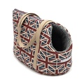 Union Jack Linen Dog Carrier