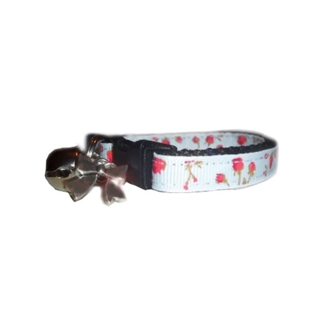 Vintage English Rose Cat Collar 2