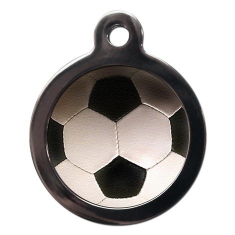 Football Pet ID Tag