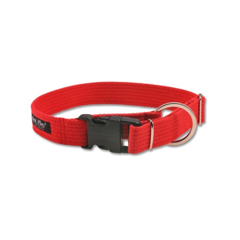 Ami Play Cotton Dog Collar – Red