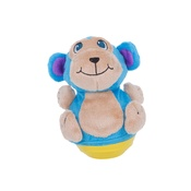 Outward Hound - Wobblerz Plush Dog Toy – Monkey