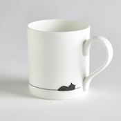 Jin Designs - Sleeping Cat Mug