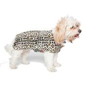 PetsPyjamas - Personalised Classic Leopard Print Dog Coat