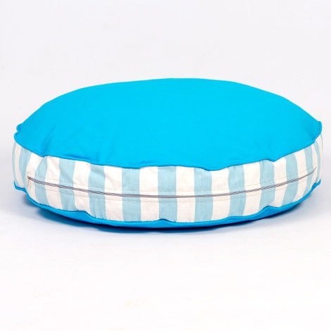 Bon Bon Soft Dog Bed - Blue Stripe 5