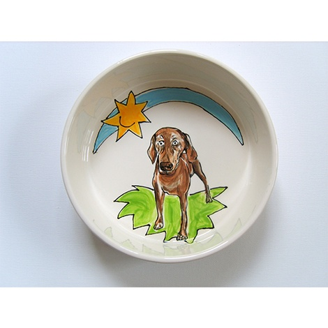 Large Personalised Dog Bowl 6