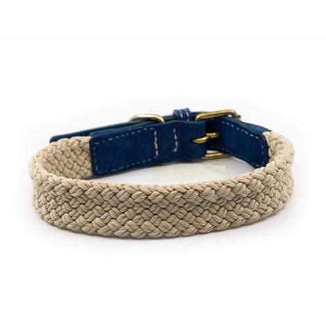 Rope collar (flat) - BLUE 2