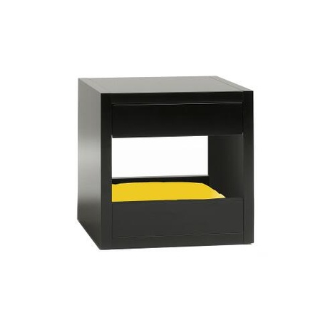 Bloq Pet Bed & Side Table - Black 14
