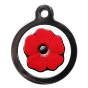 PS Pet Tags - Poppy Pet ID Tag