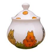 Laura Lee Designs - Cats Sugar Bowl