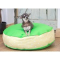 Bon Bon Soft Dog Bed - Green Spot 4