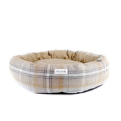 Teddy Maximus - Teddy Maximus Luxury Cocoon Bed Sand Shetland Wool