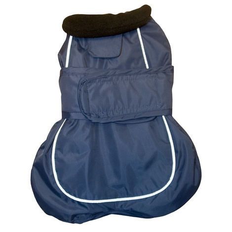 Go Walk 2-in-1 Thermal Dog Coat – Navy