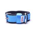 2.5cm width Fleece Comfort Dog Collar – Sky Blue