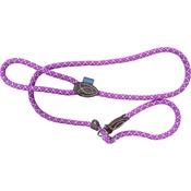 Hem & Boo - Mountain Rope Slip Dog Lead - Purple