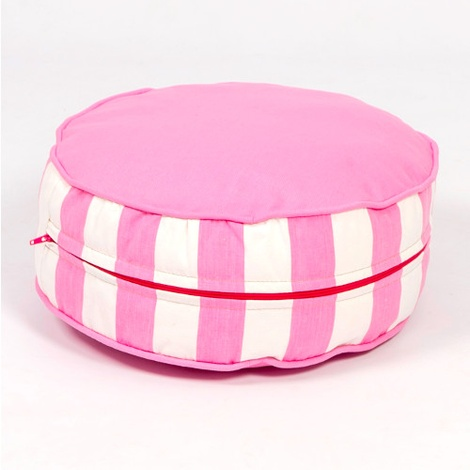 Bon Bon Soft Dog Bed - Pink Stripe 3