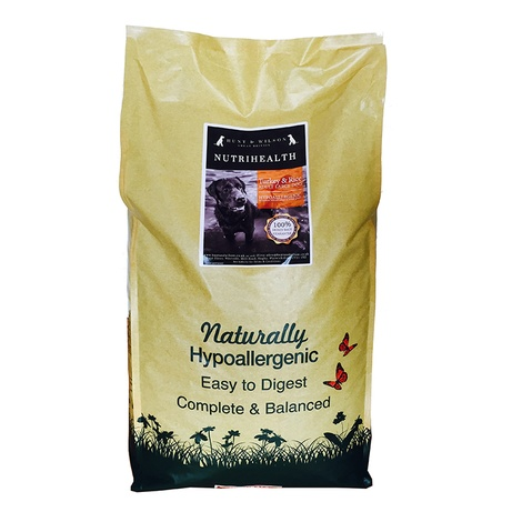 NutriHealth Adult Large Dog Turkey & Rice 12kg