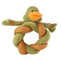 Twisty Duck Dog Toy