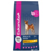 Eukanuba - Eukanuba Senior & Mature Medium Breed Dog Food 15kg