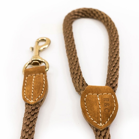 Rope lead (braided) - Olive 2
