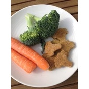 Carrot & Broccoli Dog Cookies