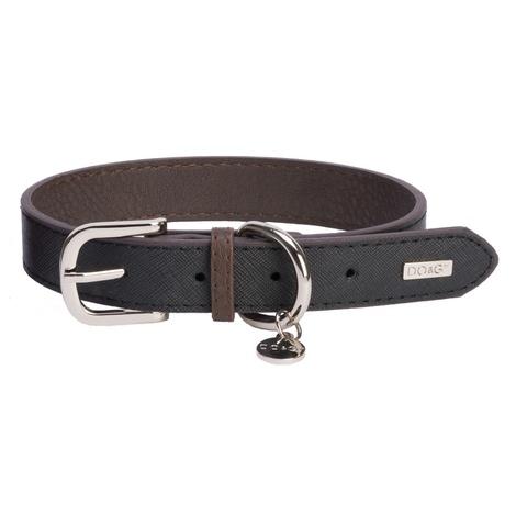 DO&G Leather Dog Collar - Black
