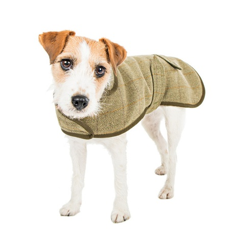 Tweed Dog Coat 3