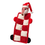 House of Paws - Fox Quilted Squeaker Dog Toy