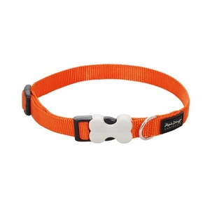Plain Dog Collar - Orange