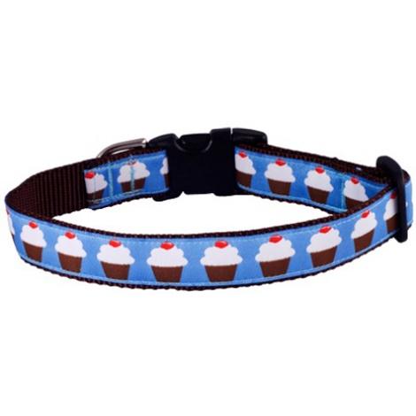 Cupcakes Dog Collar