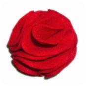 Zukie Style - Poppy Red Collar Flower