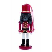 NFP - Black Poodle Nutcracker Soldier Ornament