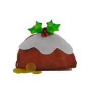 Phileas Dogg - Rawhide Christmas Pudding Card