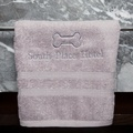 Personalised Pet Towel – Cream 4