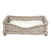 Banbury & Co - Square Willow Pet Basket