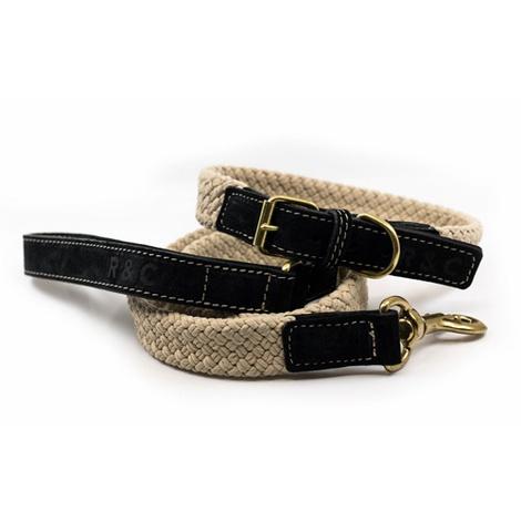 Rope collar (flat) - BLACK 3