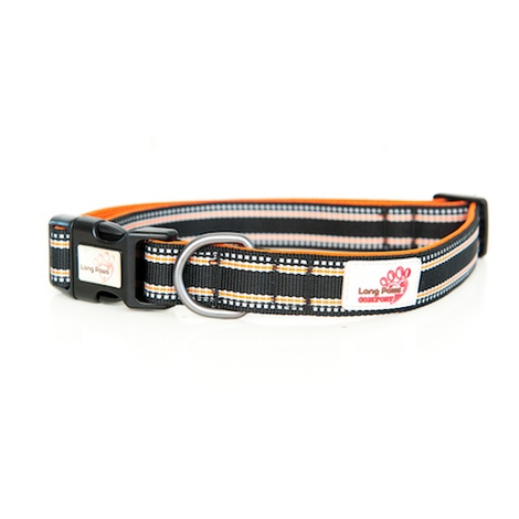 Comfort Padded Dog Collar – Black