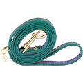 Dog Lead in Emerald Green Calfskin Leather