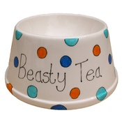 Laura Lee Designs - Personalised Spotty Dog Bowl