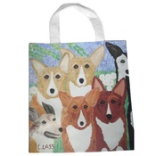 Cindy Lass - Corgi & Crown Jewels Tote Bag