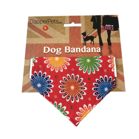 Disco Daisy Dog Bandana 3