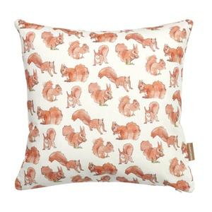 Squirrel Print Cushion