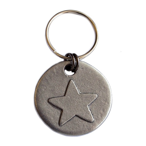 Star Dog ID Tag