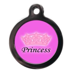 Princess Dog ID Tag