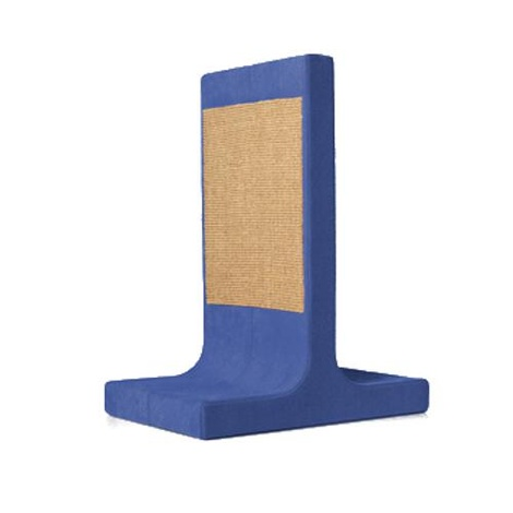Scratching Post - Letter T - Blue