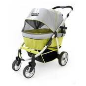InnoPet - Retro Dog Buggy - Grey/Lime